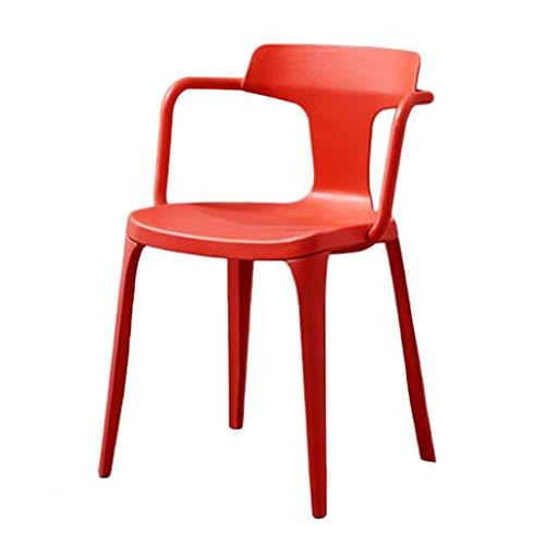 Fauteuils Chaises Casual Chaises Café Bureau Chaises Bureaux Salon De Mode avec des Accueil Multi-Options Dosserets Couleur Assemblée (Color : F, Size : 78 * 45 * 42cm)