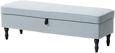 Amazon.com: IKEA Banco con almacenamiento, ljungen Gris ...