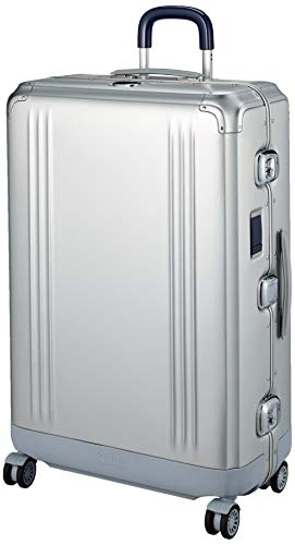 [ゼロハリバートン] スーツケース PURSUIT ALUMINUM 保証付 90L 73 cm 7.9kg シルバー