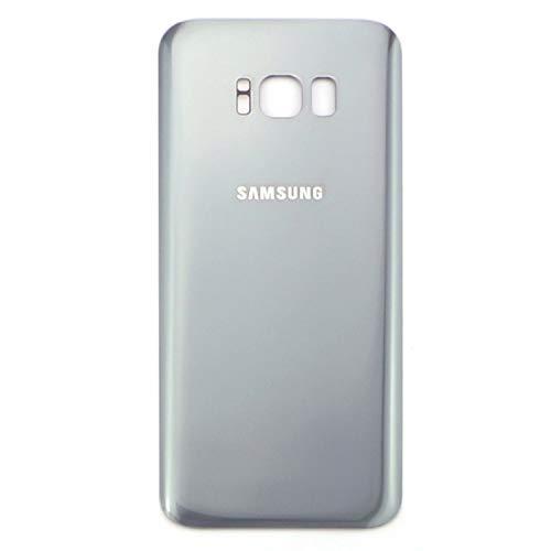 Samsung Galaxy S8+ G950F Vidrio Cubierta de la batería de la contraportada Backcover, Alle Farben:Plata