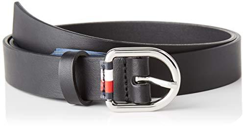 Tommy Hilfiger Damen Corporate Belt 2.5 Gürtel, Schwarz (Black Bds), X-Small (Herstellergröße: 80)