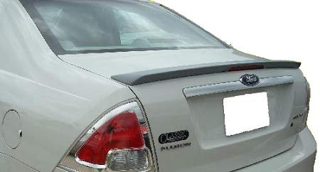 Accent Spoilers - Spoiler for a Ford Fusion Flush Mount Factory Style Spoiler-Sterling Gray Metallic Paint Code: UJ