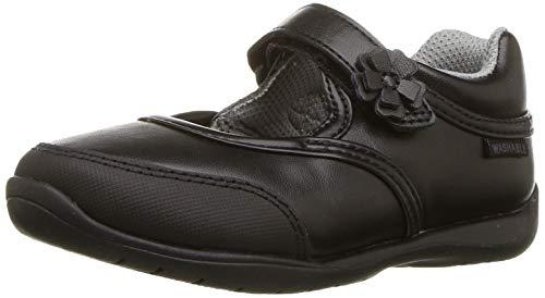 Stride Rite Girls' Cassidy Sneaker, Matte Black, 8 M US Toddler
