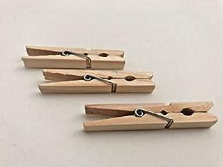 Diamond, Hardwood Clothespins, Large - 50 Count