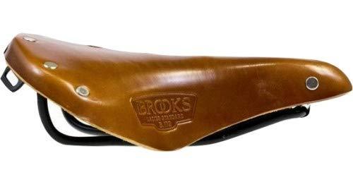 Brooks Sillín B17S para mujer, piel, 24,2 x 17,6 cm, color marrón