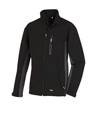 Texxor 4141 - Softshell jacket skagen chaqueta de trabajo microfibra transpirable, negro, xl,