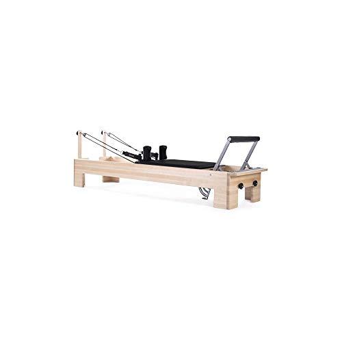 balanced body Pilates Studio Reformer, Exercise Equipment with Revo Footbar