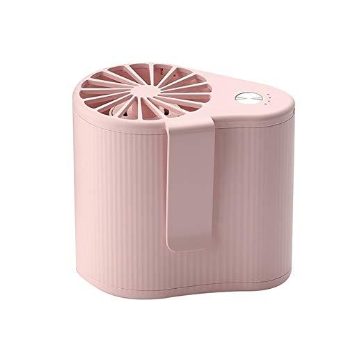 ZHongWei -- Mini Colgante de la Cintura del Ventilador de Flujo de Aire de Gran Alcance estupendo Juego Portable del Aire Acondicionado de la batería Recargable 3 Configuración de la Velocidad
