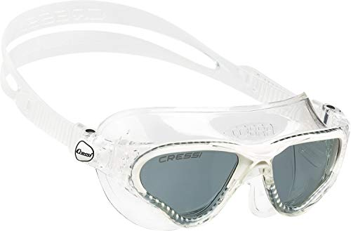 Cressi Swim Schwimmbrille Cobra, Getöntes Glas, transparent, One size, DE201931