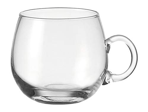 Leonardo Punch Bowlebecher, 6-er Set, 290 ml, spülmaschinengeeignet, handgefertigtes Klarglas, 026283