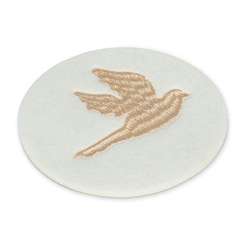 Abbott Collection 27-Dove-CSTR Untersetzer, Vogelmotiv, 10,2 cm, elfenbeinfarben
