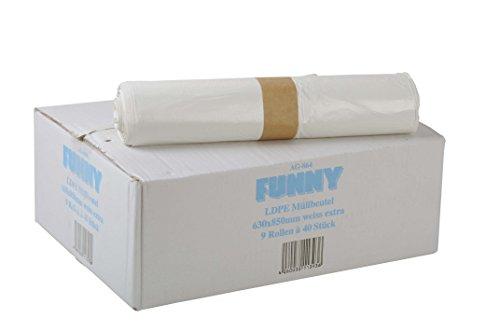 Divertidas bolsas basura polietileno alta densidad