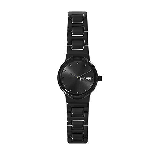 Skagen Damen Analog Quarz Uhr mit Edelstahl Armband SKW2830