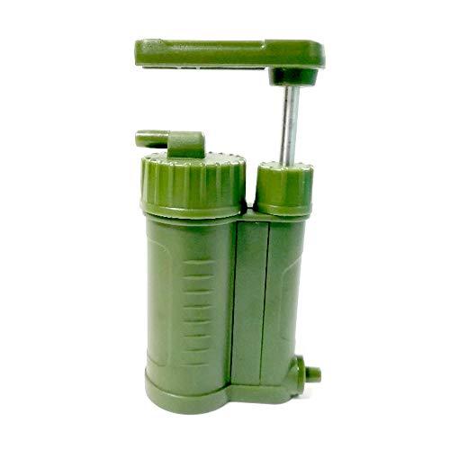 CHARON Waterzuiveraar, vervangbare koolstof 0,01 micron waterfilter, meerdere filter platforms, draagbare outdoor nood- en overlevingsapparatuur, camping, wandelen, rugzak