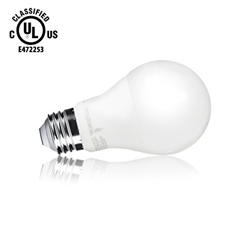 HyperSelect 9W LED Light Bulb A19 - E26 Bulb Non-Dimmable LED Bulb [60W Equivalent], 3000K (Soft Whi