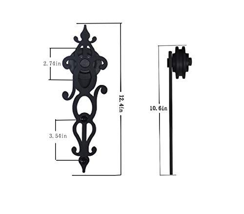 Billion Blossom - Kit de accesorios para puerta corredera de una sola puerta: Amazon.es: Bricolaje y herramientas