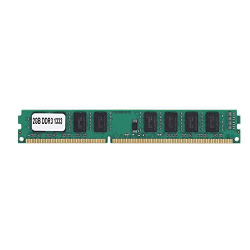 Bindpo Modulo RAM Memoria di PC, Memoria RAM DDR3 2GB 1333MHz 240pin per Computer Desktop PC3-10600 per Intel/AMD Scheda Madre
