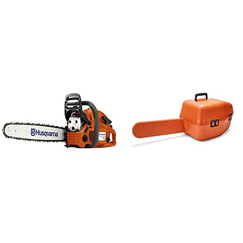Husqvarna 460 Rancher 20 in. 60.3cc Chainsaw with Classic Carry Case
