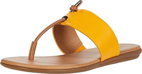 Aerosoles Women's Crown Point Flip-Flop, Yellow Combo, 7.5