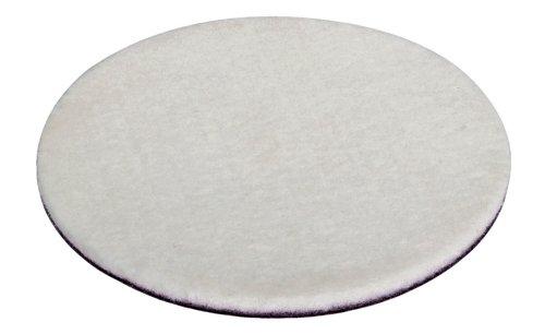 Wolfcraft 2208000 - Disco de pulir de fieltro adhesivo Ø 125 mm