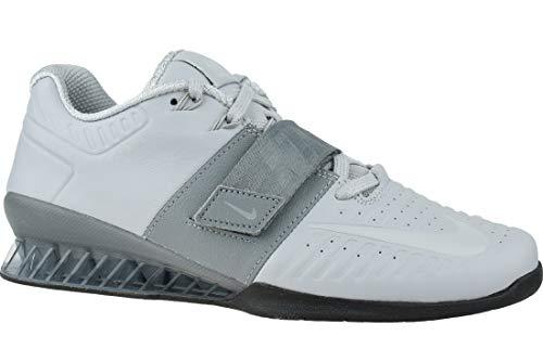 Nike Romaleos 3 Xd Scarpe da ginnastica unisex adulto, Grigio (grigio.), 45 EU