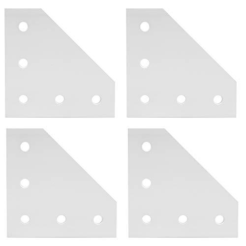 Placa de conexión, placa de unión Placa de unión, aleación de aluminio para la industria de la construcción Proyecto de robot enrutador CNC para impresora 3D(3030L type)