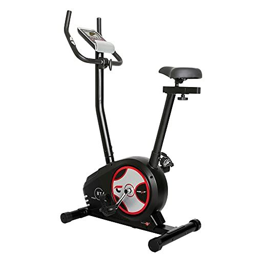 Christopeit Sport Ergometer Heimtrainer BT 4 - 24-Stufig, bis 120kg Körpergewicht, 7kg Magnet-Bremssystem, LCD-Display