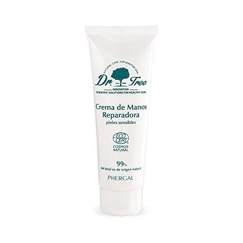 Dr. Tree reparerende handcrème voor droge of geïrriteerde huid. 75 ml.