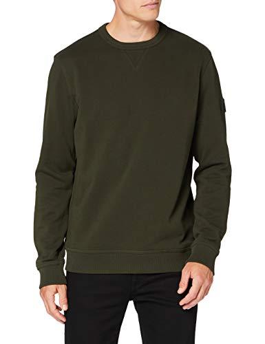 BOSS Mens Walkup 1 Sweatshirt, Open Green (346), XXXL