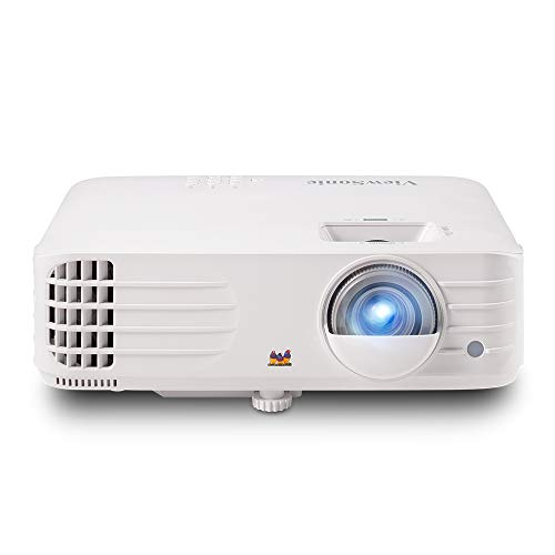 ViewSonic 1080p Projector with 3500 Lumens DLP 3D Dual HDMI Sports Mode and Low Input Lag for Gaming, Stream Netflix with Dongle (PX703HD)