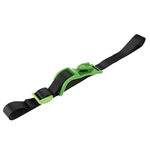 Ajustador de cinturón de seguridad estándar universal para automóvil automático para cirugía abdominal para cirugía de estómago para seguridad de conducción para Puerpera(green)