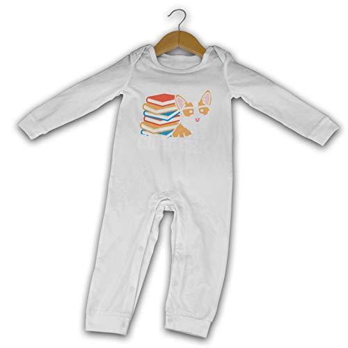 Baby Crawler Cool Corgeek Unisex Baby Cotton Long Sleeve Bodysuits For Boy & Girl
