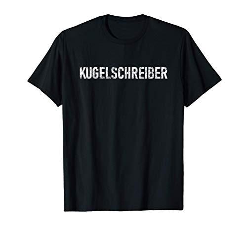 KUGELSCHREIBER【クーゲルシュライバー】かっこいい ドイツ語「ボールペン」単語 言葉 言語 中二病 ドイツ Tシャツ