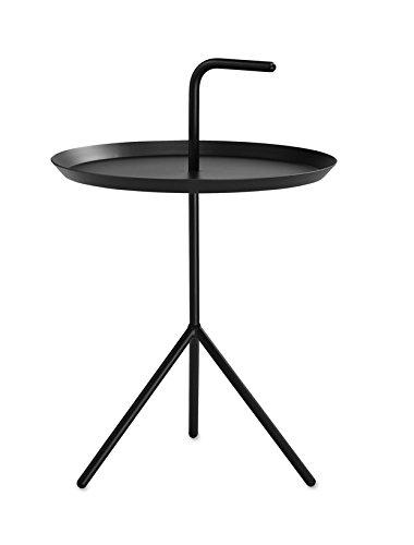 DLM XL Beistelltisch, schwarz Ø48.2cm Höhe Ablage: 49,5cm