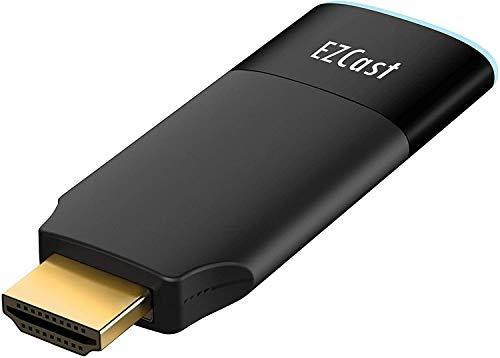EZCast 2 Wireless Display Receiver, unterstützt 2,4/5GHZ WiFi, kompatibel mit Android, iOS, Windows, MacOS, DLNA, Miracast, Airplay-Spiegelung