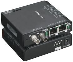 Black Box Lbh100A-St Media Converter Switch, Standard, 115 Vac, 60Hz
