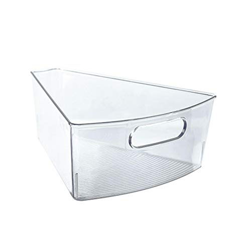 ershixiong Cesta de almacenamiento de alimentos de plástico, organizador para cocina, encimeras, gabinetes, nevera