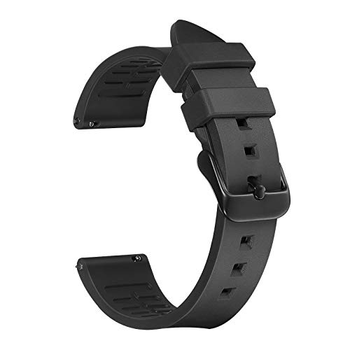 fibbia cinturino orologio Cinturino Orologio 20mm in Gomma