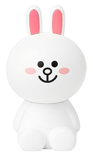LINE FRIENDS Cony Rose Car Air Freshener One Size White