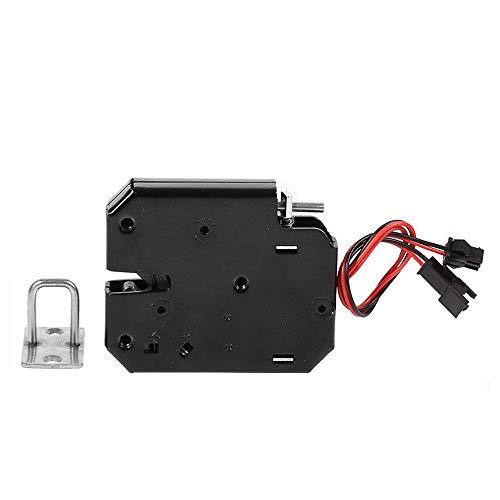 Elektrische slot, DC 12 V, elektromagnetische vergrendelingdeur, kast, lade, elektromagnetische vergrendeling, met noodstvergrendeling voor toegangscontrole van de deur