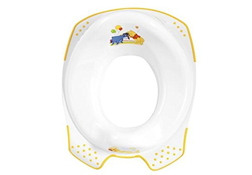 OKTKids 843391E kinder-toiletbril Winnie Puuh & vrienden, wit