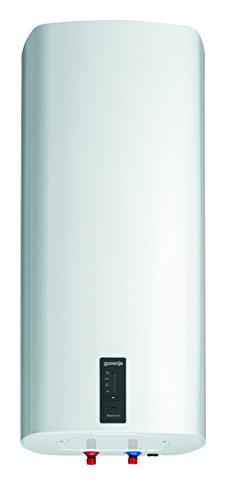 Gorenje Warmwasserspeicher, 80 L, EEK B, emaillierter Innenbehälter, 2 kW, Display mit Temperaturanzeige, ECO-Smart-Fkt, Slim, druckfest, 1 Stück, weiß, OTGS 80 SM/D