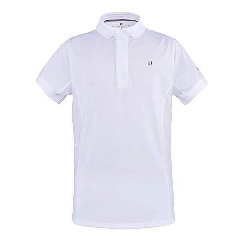 Kingsland Classic Mens SS Showshirt white, Größe:L