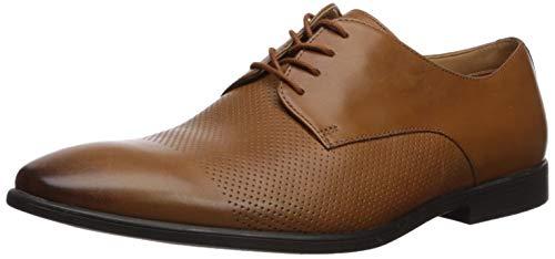 Clarks Men's Bampton Cap Oxford, tan Leather, 100 M US