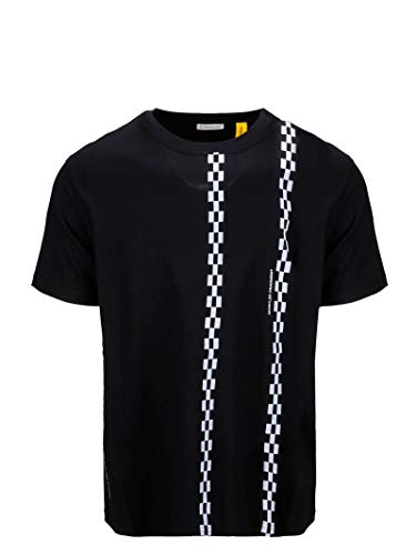 Luxury Fashion | Moncler Heren 80025508392B999 Zwart Katoen T-shirts | Herfst-winter 19