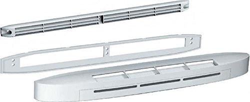 Entrada de aire higrorregulable acústica eca-hy ra 6/45 m3/h blanco