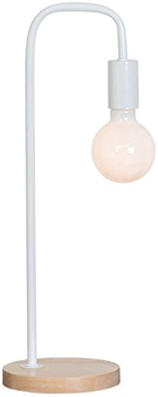 LTT Desk Lamp - Desktop Tischlampen Tischlampen Tischlampen Restaurant Lampen Energiesparende Tischlampen Button Switch Tischlampen LED Lampen Vintage Tischlampen (Farbe   Weiß) B07JW8FLTD | Ausgewählte Materialien  68f0b6