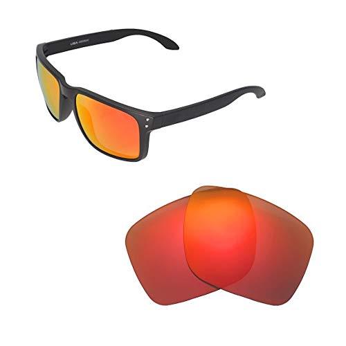 sunglasses restorer Basic Lentes de Recambio Polarizadas Fire Iridium para Oakley Holbrook