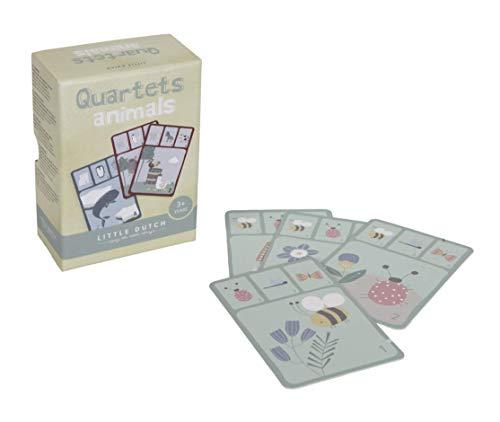 Tiamo Little Dutch 4481 Kartenspiel Quartett Tiere