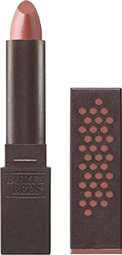 Burts Bees 100% Natural Glossy Lipstick, Peony Dew - 1 Tube